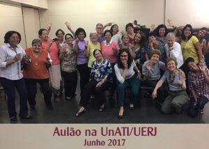 Aulão na Unati-UERJ -junho 2017