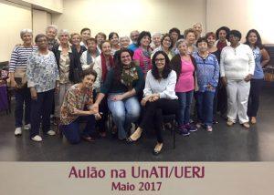 Aulão na Unati-UERJ – maio 2017