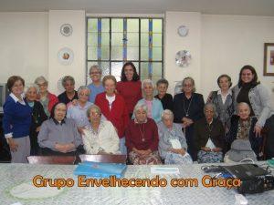 Grupo Envelhecendo com Graça – 2011