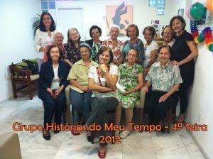 Histórias do Meu Tempo – quartas-feiras – 2012