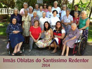 Irmãs Oblatas – 2014