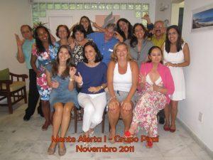 Mente Alerta I – Grupo Piraí – novembro 2011