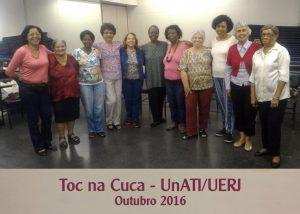 Toc na Cuca I – UnATI-UERJ – outubro 2016